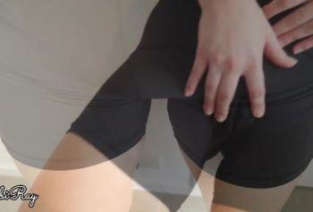 Сводная сестра порно русская озвучка сын дает мне сперму в трусиках и велосипедных штанах после тренировки и игры со своим кам